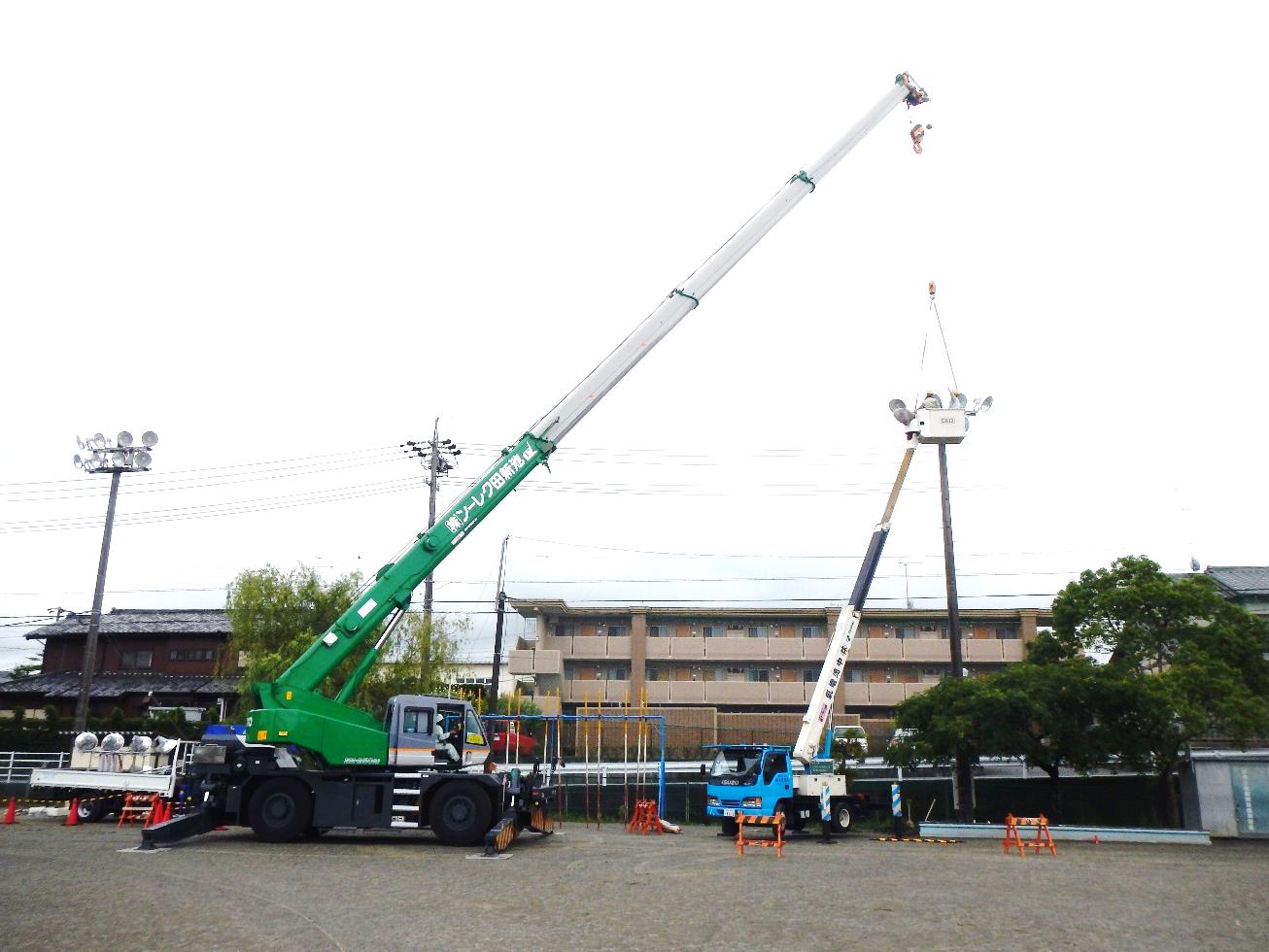 掛川市の小学校電気工事